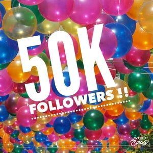 50,000!! We Did It! Conga Line 💃🏽Follow Me !💃🏽